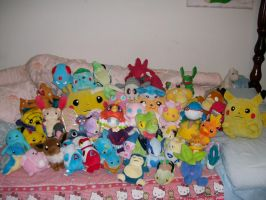 Pokemon Plush Collection by saiyamewome