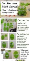 Om nom nom! Plushie Tutorial - Part 1 by Blacknight4711