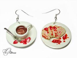Strawberry Roll by OrionaJewelry