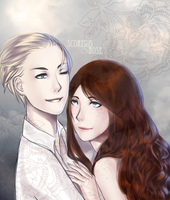 HP: Scorpius and Rose by anamoar