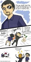 Dizzy Dad by larein
