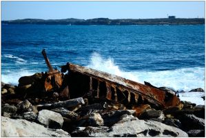 Rusted wreck 1 by wildplaces