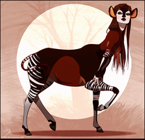 Okapi Centauress by DJ88