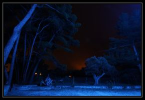 Blue night I by lumiere81