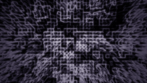 Abstract Purple Grid Wallpaper by JanetAteHer