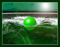 ball in the water-mandelbulber 1 by sonafoitova