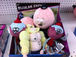 regular show plushies by becaveach21