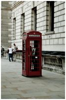 Telephone Booth by edhall
