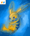 Pikachu Color Experiment: 3 by Undeniable-beliefs