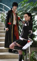 Adelheid and  Hibari cosplay by AliceBlacfox