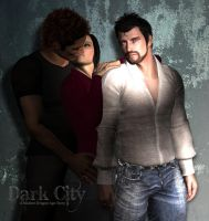 Hawke and Vael Candid Shot by CelticWolfwalker