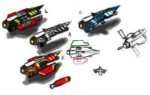 Concept fighter by Norsehound