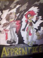"Awaken The Apprentice ""Colored"" by MrFuriousramos"