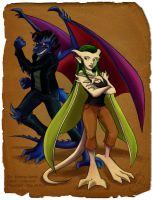 Absinthe and Delacroix by coda-leia