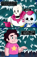 Jesus Christ, Sans, they're minerals! by watermelonium