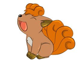 Vulpix by PikaGrl