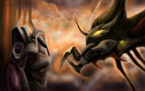 TFP - Megatron and Predaking by MaryDec