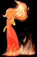 Flame Princess by avidcartoonfans