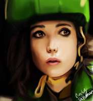 Ellen Page by KasumiTan