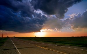 The Stormy Road by MattGranzPhotography