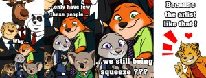 Zootopia - Problem photographing by doraemonbasil