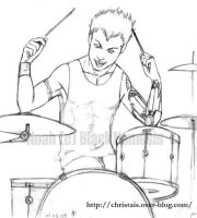 Noah_the_drummer by ChrisTais