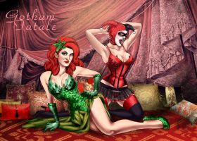 Gotham Fatale by quotidia