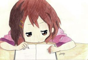 Lazy Yui!! by kawaii-kura-blossom
