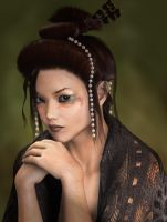 Oriental Portrait by Phlox73