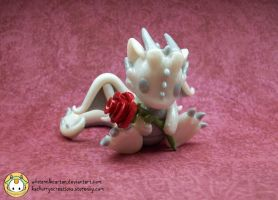 Red Rose Dragon by whitemilkcarton