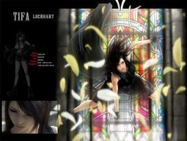 Tifa Lockhardt Final Fantasy by night-wolf23