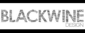blackwine design typography by TRANCE--fusion