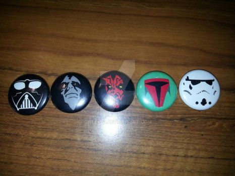 Star Wars Buttons: Empire by Geek-0
