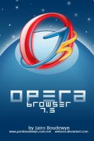 Opera Browser 7.5 Icon 2.0 by weboso