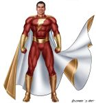 B MOLALE SHAZAM MOVIE SUIT by supersebas