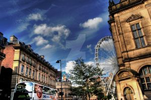 Sheffield City Centre HDR by nat1874