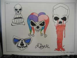 Tattoo flash 4 by 44anarchy44