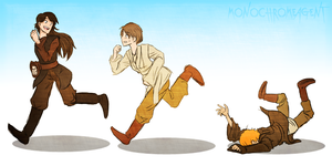 Troublesome Padawans by MonochromeAgent