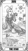 KH Tarot: The Star by Autumn-Sacura