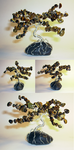 Tiger's eye Desktop Bonsai Tree by angelhitsground