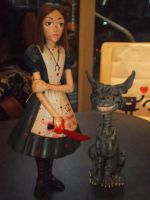 American Mcgee's Alice Rare Bloody Limited edition by LiryoVioleta