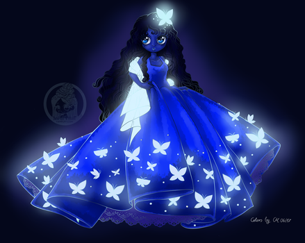 Floof-Dress by 'Yampuff' by CaptainMetal