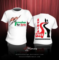 Freedom for Syria by shoneez4design