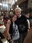 Me with Martijn at Delain's videoshoot by TheWolfInMe