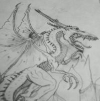 Dragon chronicals dragon by Carlie-NuclearZombie
