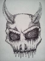 Demon Skull by RialZeeno