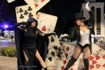 Zatanna vs Raven by AlexiaDeath10