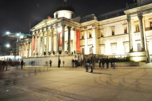 National Gallery - at night by jarry1215