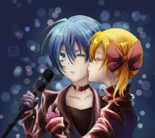 Kiss On Stage by C--O--R--A