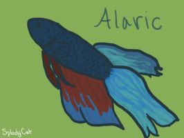 Betta Fish: Alaric by myexplodingcat